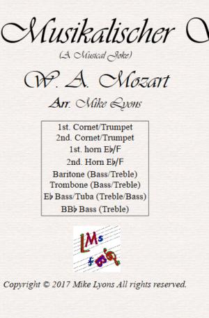 Brass Octet – Ein Musikalischer Spass (A Musical Joke)