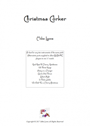 Christmas Corker – Flexible duets for any instruments