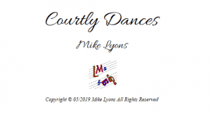 Double Reed Quintet – Courtly Dances