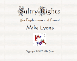 Euphonium Solo – Sultry Nights