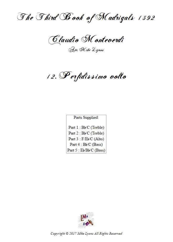 Madrigals Book 3 12