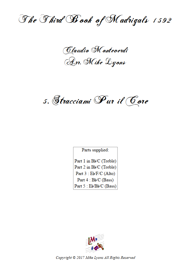 Madrigals Book 3 5
