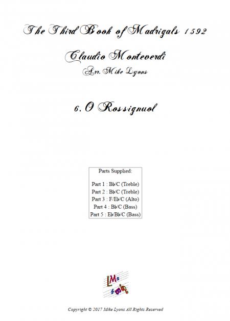 Madrigals Book 3 6