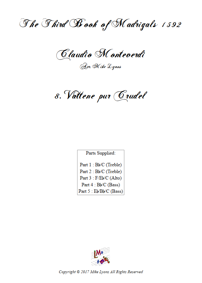 Madrigals Book 3 8