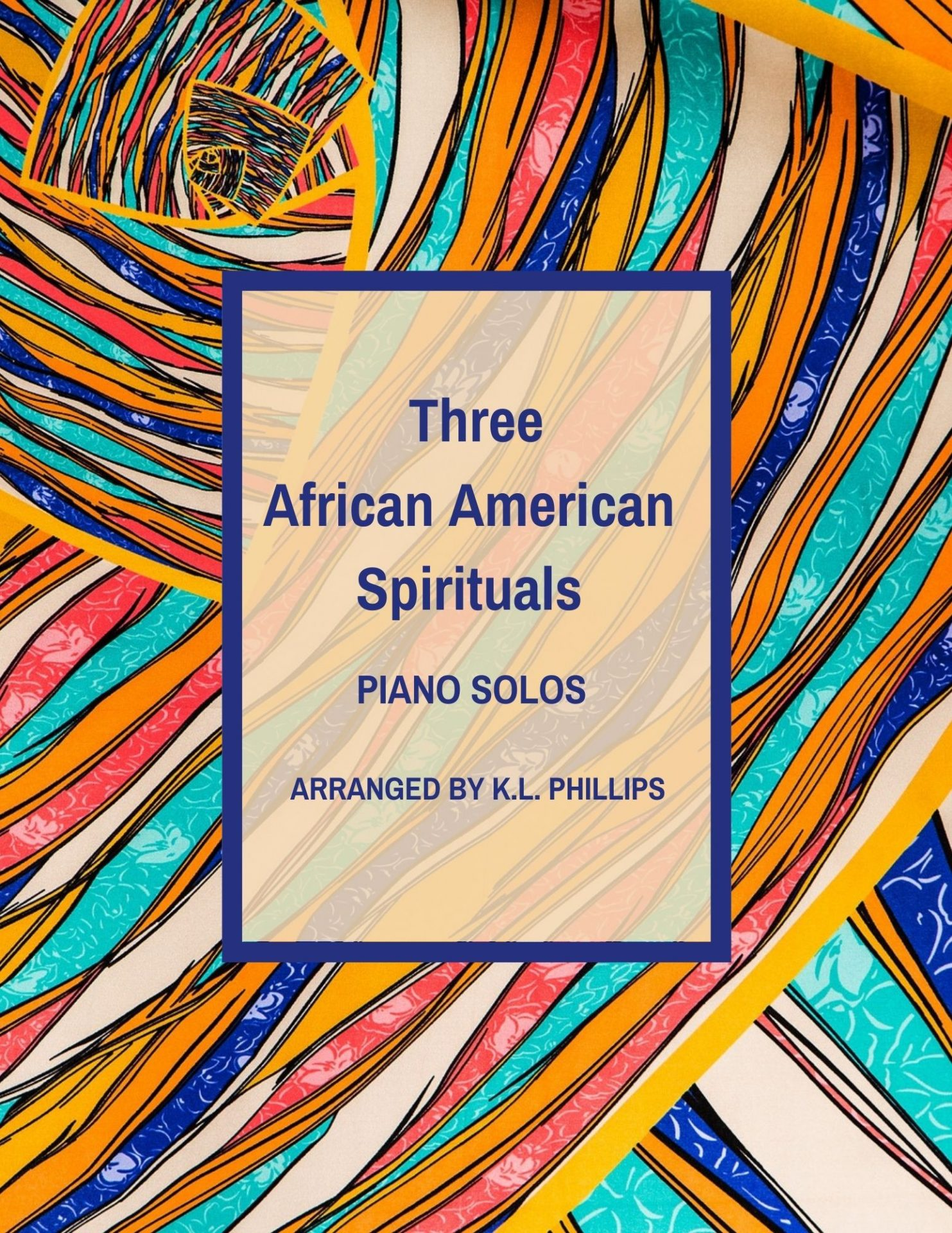 The African American Spirituals - Piano Solos web cover