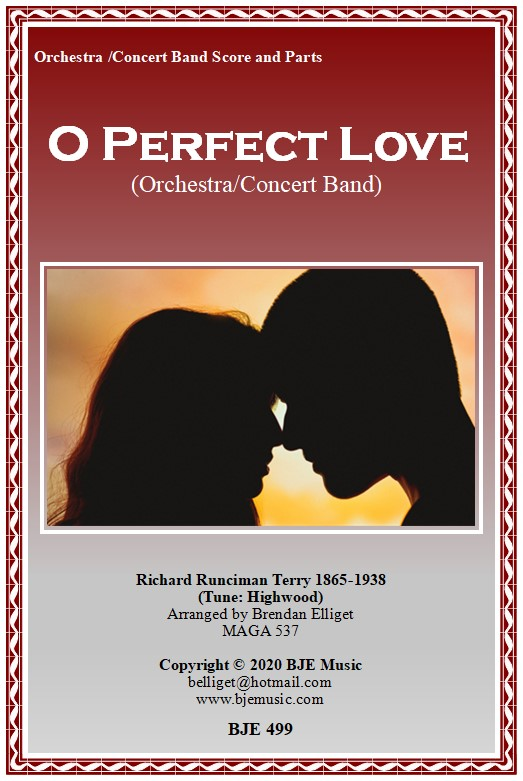 499 FC O Perfect Love Orchestra CB