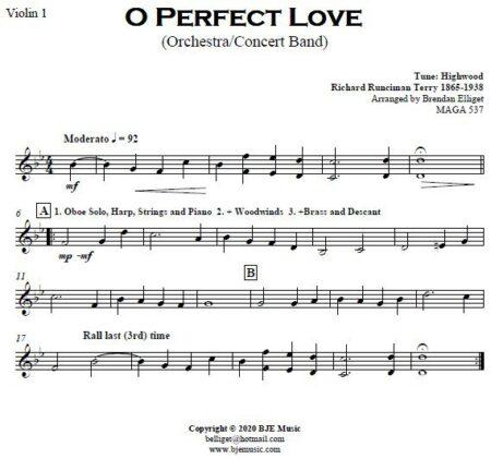 499 O Perfect Love CB Orchestra SAMPLE page 008