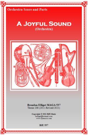 A Joyful Sound – Orchestra Score and Parts