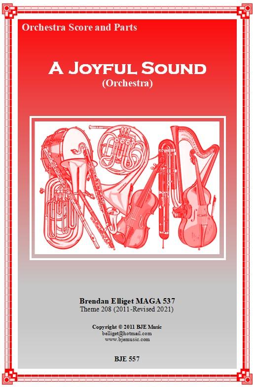 557 FC A Joyful Sound Orchestra Theme 208 BJE Music 2021