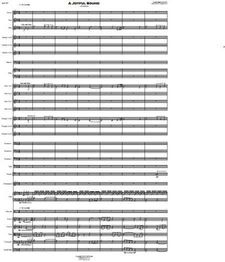 557 A Joyful Sound Orchestra SAMPLE page 001