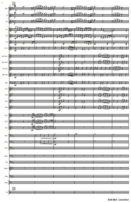 551 Early Bird Concert Band Sample page 002