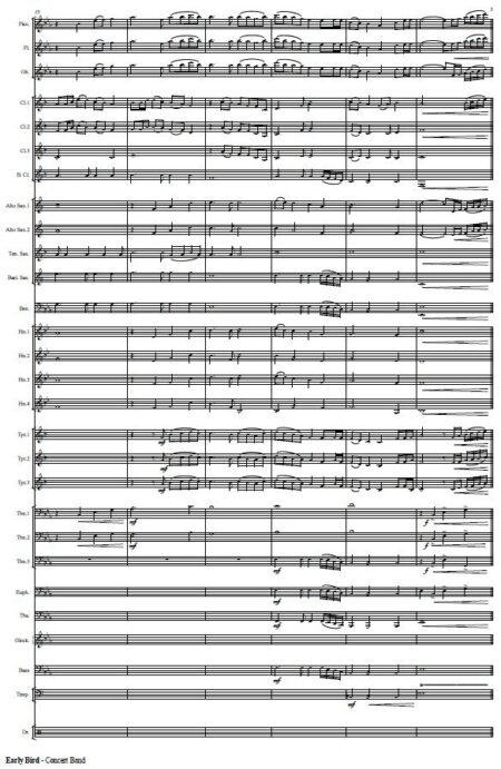 551 Early Bird Concert Band Sample page 003