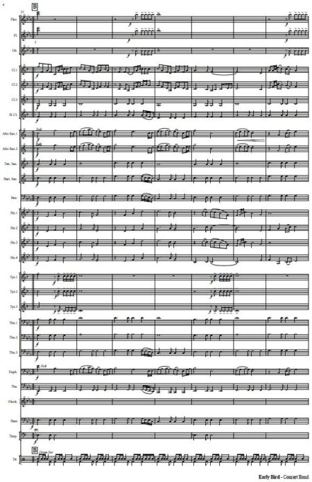 551 Early Bird Concert Band Sample page 004