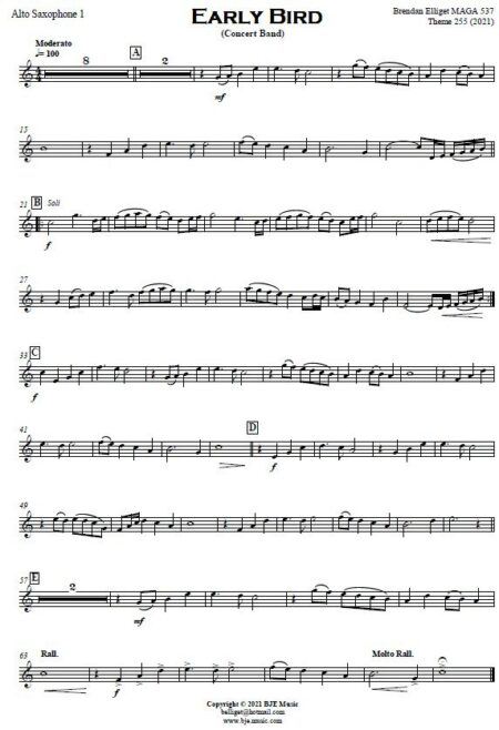 551 Early Bird Concert Band Sample page 006
