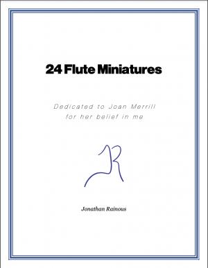 24 Flute Miniatures: No. 2, Allegro