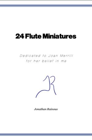 24 Flute Miniatures: No. 3, Sunday Mornings