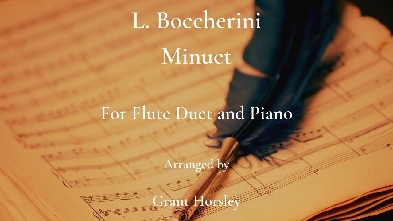 boccherini flute duet