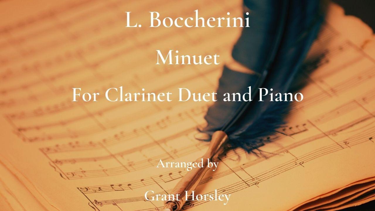 boccherini clarinet duet
