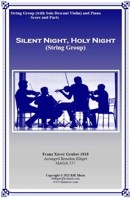 563 FC Silent Night Holy Night String Group
