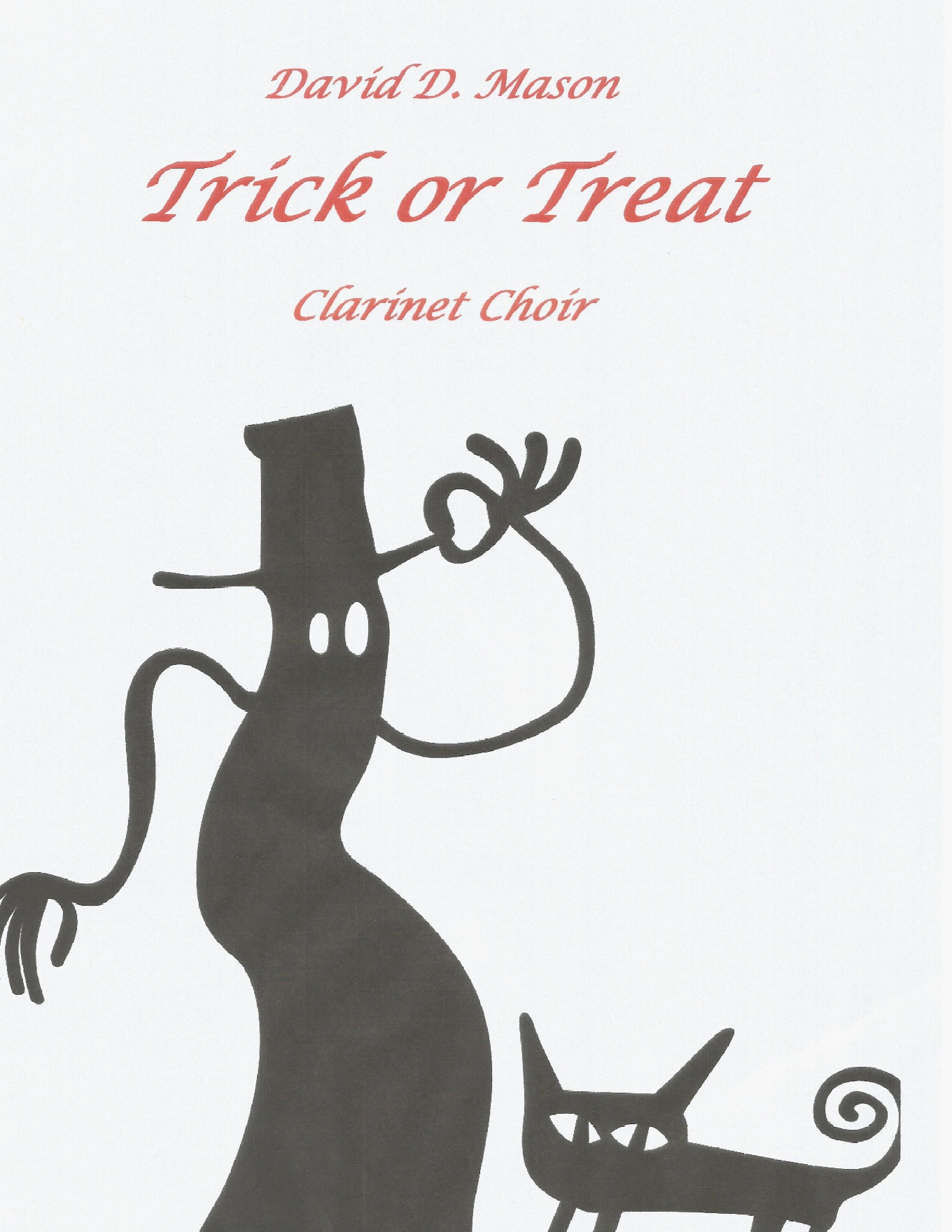 Trick or Treat front cover