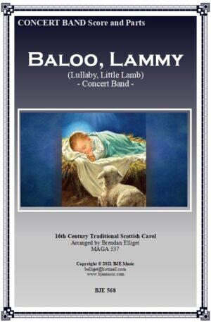 Baloo, Lammy (Lullaby, Little Lamb) – Concert Band