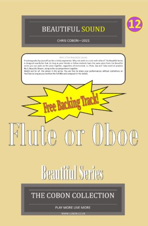 No.12 Beautiful Sound (Flute or Oboe)
