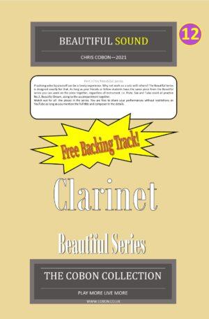 No.12 Beautiful Sound (Clarinet or Bass Clarinet)