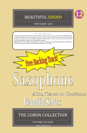 No.12 Beautiful Sound (Alto, Tenor or Baritone Saxophone)