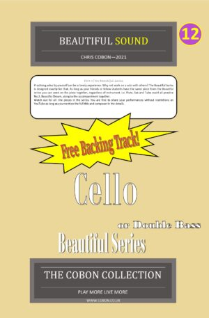 No.12 Beautiful Sound (Cello or Double Bass)