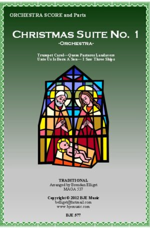 Christmas Suite No. 1 – Orchestra