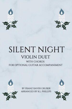 Silent Night – Unaccompanied Violin Duet